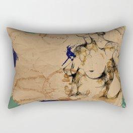 One love geometry Rectangular Pillow