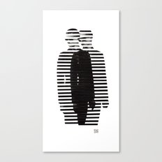 Deconstruction IV (Thin Man) Canvas Print