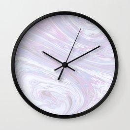 Abstract Marble Wall Clock
