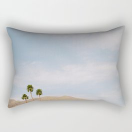 Desert Style Palm Trees Rectangular Pillow