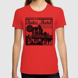Bates Motel Advertisement - Black Type T-shirt