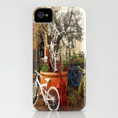 Colorful Bicycles iPhone (4, 4s) Slim Case