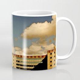 Office block and clouds Coffee Mug