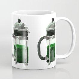 French Press - Green Coffee Mug