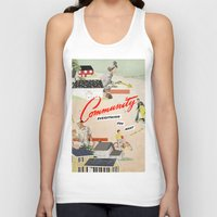 community Tank Tops featuring Community by Heather Landis