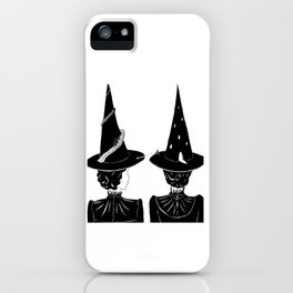 Two Witches iPhone Case