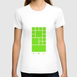 Windows Phone 8 Grid - Green T-shirt