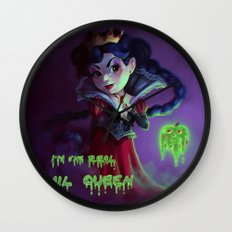 I'm the real evil queen Wall Clock