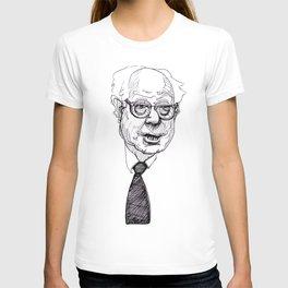rumply bernie sanders T-shirt
