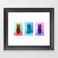 triptych7 Framed Art Print