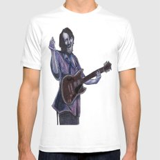 John Bell- Singing Mens Fitted Tee White MEDIUM
