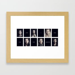 Every Story Needs a Memorable Detail Framed Art Print