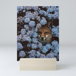 gaps and silences Mini Art Print