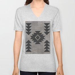 Aztec Tribal Unisex V-Neck