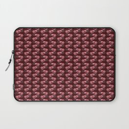 Swedish Waters: Shrimps Red Laptop Sleeve
