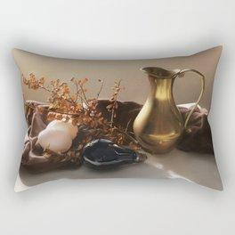 Warm Still Life Painting Rectangular Pillow