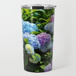 Hydrangea Garden Travel Mug