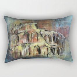Abstract Rome Rectangular Pillow