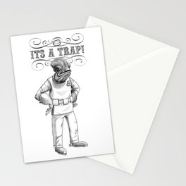 Its a trap - Admiral Akbar Stationery Cards