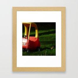 Taxi Please Framed Art Print