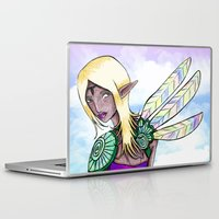 elf Laptop & iPad Skins featuring Elf by Flying Cat Artwork