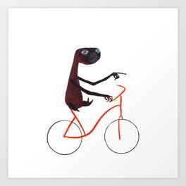 Reason EIGHT for using bike: Art Print