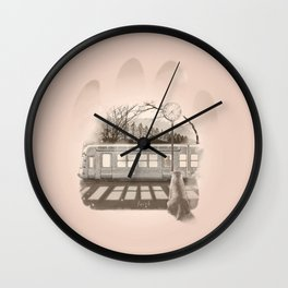 Hachiko's Dream Wall Clock