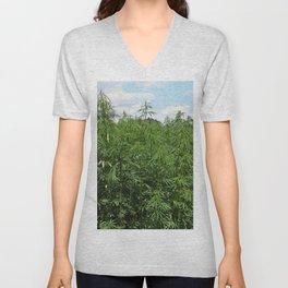 marihuana Unisex V-Neck