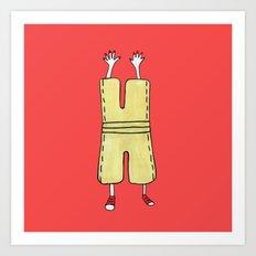 Supernatural Pants Art Print