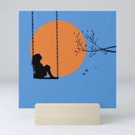 Dreaming like a child Mini Art Print