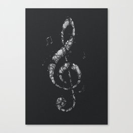 Rock Music Canvas Print