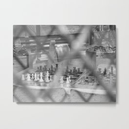 Chess Without Bobby Fischer Metal Print