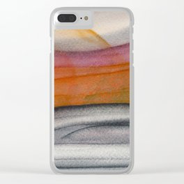 Abstract modern art 01 Clear iPhone Case