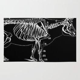 Bull Skeleton Rug