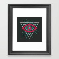 Illuminati (alt color) Framed Art Print