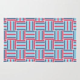 AFE Abstract Basket Weave Rug