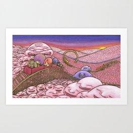 Mr. Joy  Coaster Art Print