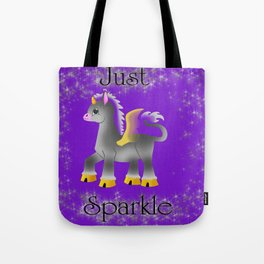 Just Sparkle Tote Bag