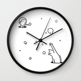 Bubblepop Wall Clock