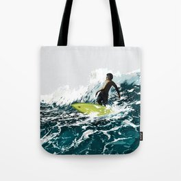 On the Wave Tote Bag