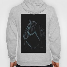 """ Black Stallion "" Hoody"