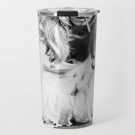 Brigitte Bardot Playing Cards Travel Mug