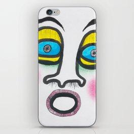 Blushing fool! iPhone Skin