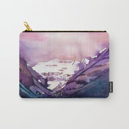 Coloful Lake Louise Carry-All Pouch