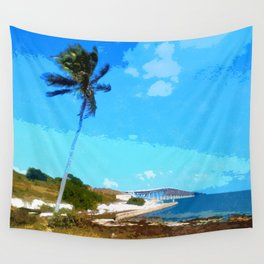 Bahia Honda Overlook Wall Tapestry
