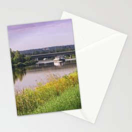 canal boatman Stationery Cards