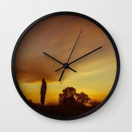 Day Breaking Wall Clock
