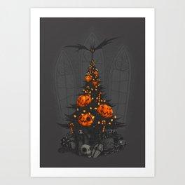 I'm Dreaming of a Dark Christmas Art Print