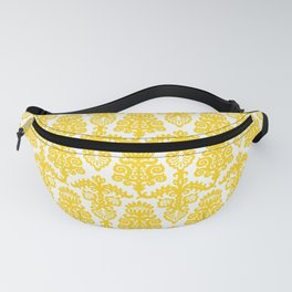 Floral Pattern Yellow Fanny Pack