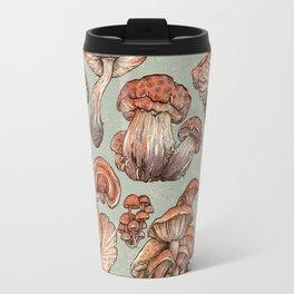 A Series of Mushrooms Travel Mug